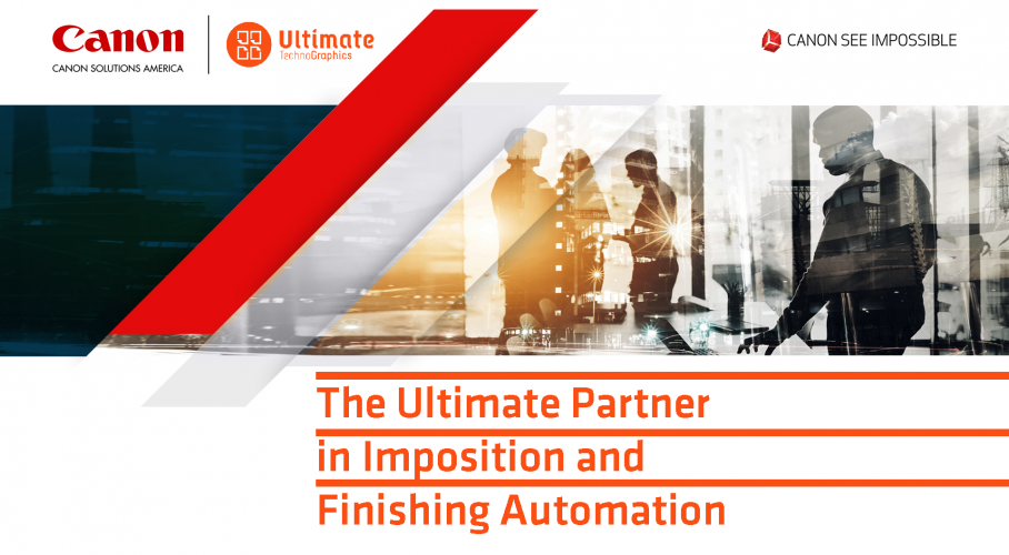 Ultimate TechnoGraphics Integration Canon Solutions America Expands Imposition and Finishing Portfolio