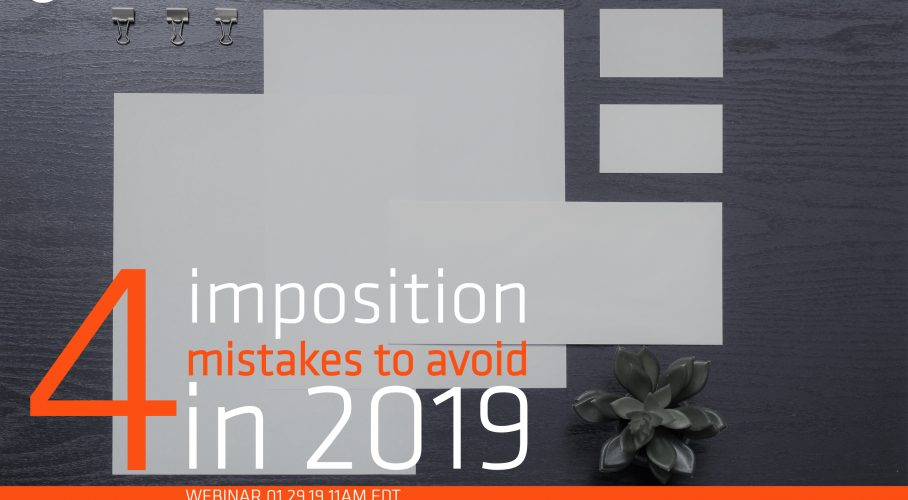Ultimate TechnoGraphics Webinar 4 PDF imposition mistakes to avoid