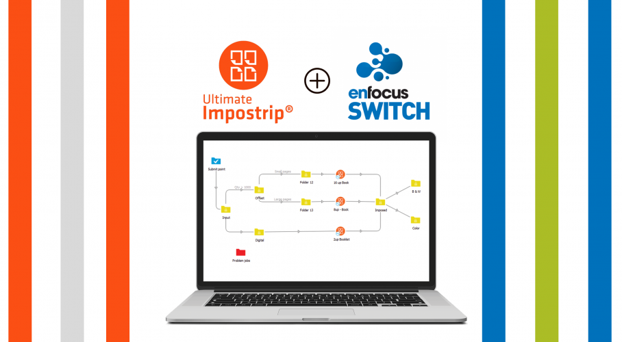 Ultimate TechnoGraphics Webinar Integration of Automated Imposition for Enfocus Switch with Ultimate Impostrip