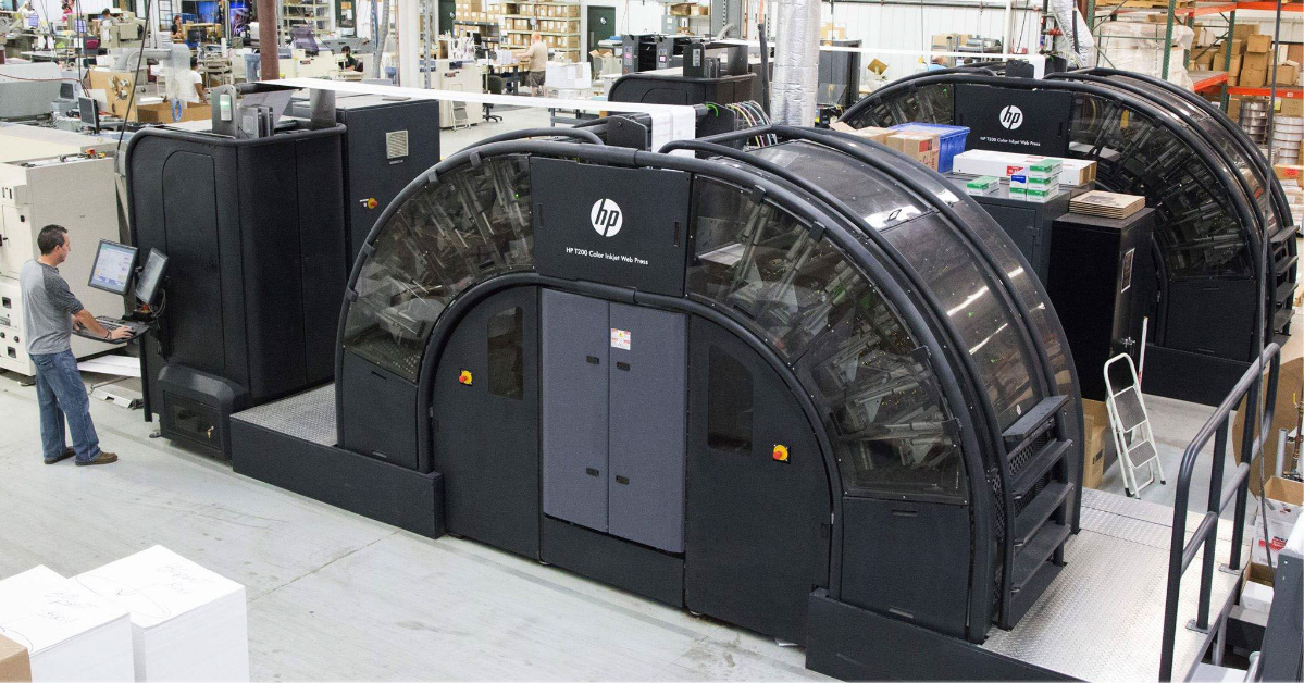 Ultimate TechnoGraphics - Documation Relies on Ultimate Impostrip® for Thousands of On Demand Print Jobs Everyday - HP PageWide T240HS Web Presses