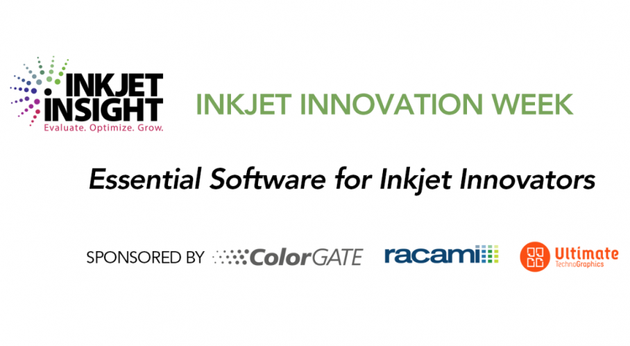 Ultimate TechnoGraphics Sponsored Webinar Inkjet Innovation Week Expertise on Inkjet Printing