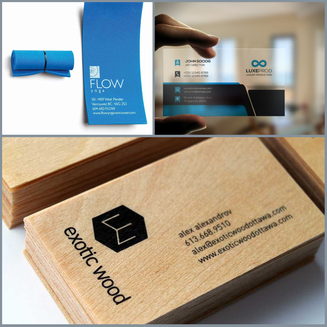Ultimate TechnoGraphics - Blog - 6 unique finishes for stand out style business cards