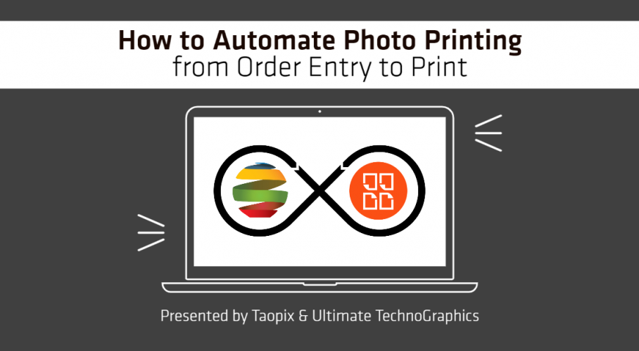 Ultimate TechnoGraphics Webinar Taopix Ultimate Impostrip Imposition Photos Print Automation from Order Entry to Print