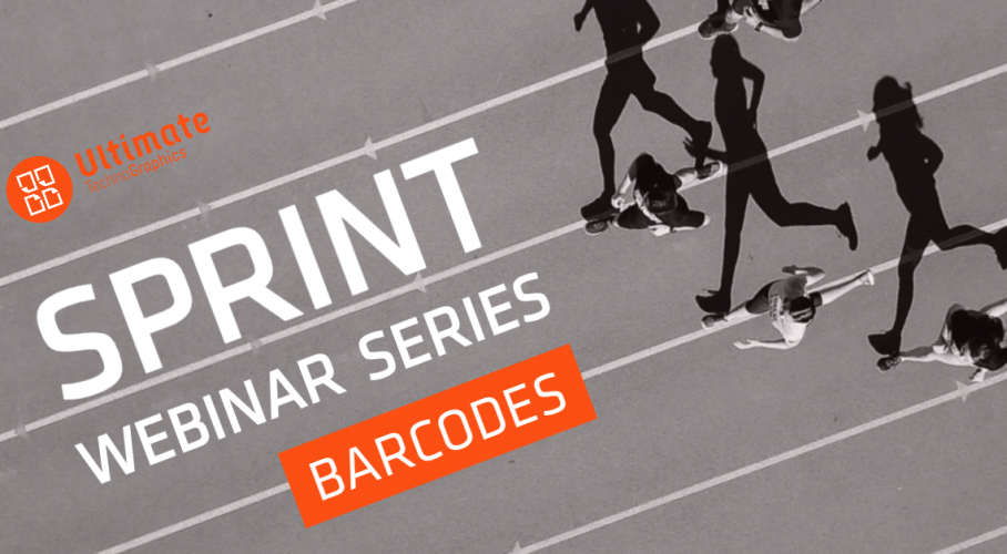 Ultimate TechnoGraphics Sprint Webinar Barcodes