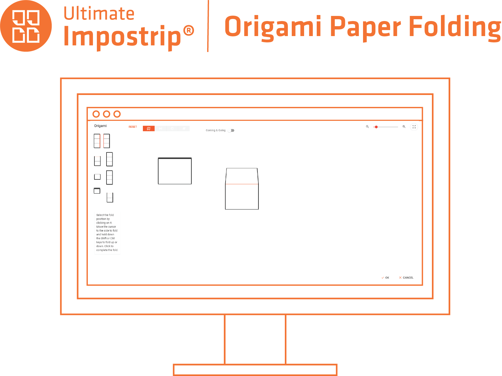 Ultimate TechnoGraphics - Ultimate Impostrip solution logicielle d'imposition - Maquette de papier Origami