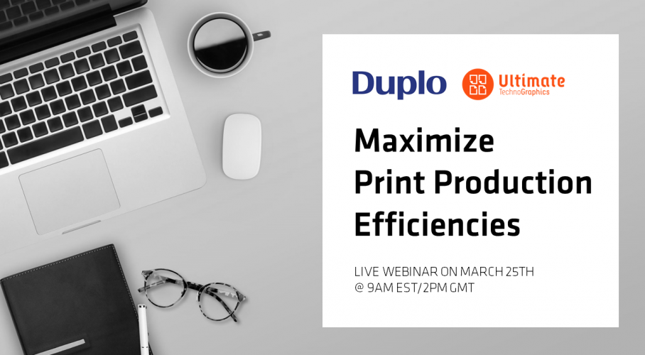 Ultimate TechnoGraphics - Webinar with Duplo - Ultimate Impostrip Automated Multifinisher