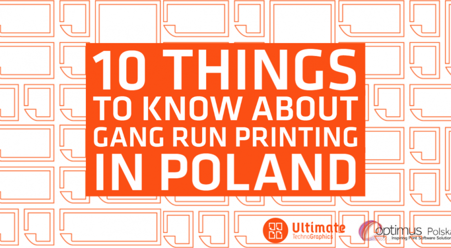 Ultimate TechnoGraphics - Blog - 10 Things to Know About Gang Run Printing in Poland